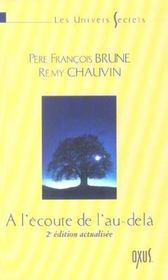 A L'ECOUTE DE L'AU-DELA (2ème édition actualisée), Les univers secrets - Intérieur - Format classique