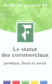 Le statut des commerciaux - Couverture - Format classique