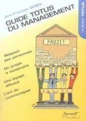 Guide totus du management - Couverture - Format classique