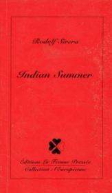Indian summer - Couverture - Format classique