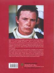 Didier Pironi, la flèche brisée - 4ème de couverture - Format classique