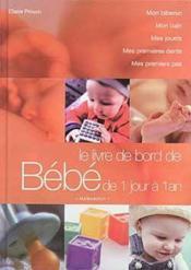 Le Livre De Bord De Bebe - Couverture - Format classique
