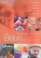 Le Livre De Bord De Bebe - Intérieur - Format classique