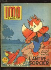 Ima L Ami Des Jeunes N° 42 Du 25 Octobre 1956. Rudi S Aventure L Antre Du Sorcier. - Couverture - Format classique