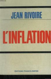 L'Inflation. - Couverture - Format classique