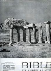 Bible Et Terre Sainte, N° 11, Mai 1958 - Couverture - Format classique