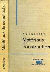 Materiaux De Construction - Couverture - Format classique