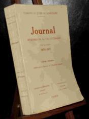 Journal -Tome 4 - 1870-1871 - Couverture - Format classique