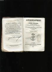 Geographie. - Couverture - Format classique