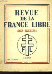 Revue De La France Libre - Couverture - Format classique