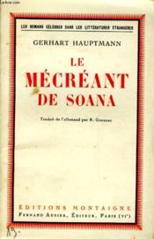 Le Mecreant De Soana - Couverture - Format classique