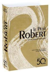 Dictionnaire Le Petit Robert de la langue française - Couverture - Format classique