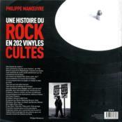 Une histoire du rock en 202 vinyles cultes - 4ème de couverture - Format classique