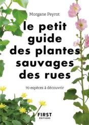 Petit guide des herbes sauvages des villes - Couverture - Format classique