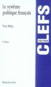 Le système politique français (5e édition) - Intérieur - Format classique