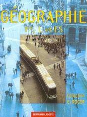 Geographie 1re L/Es - Intérieur - Format classique