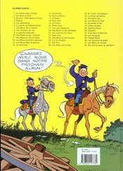 Les tuniques bleues t.31 ; drummer boy - 4ème de couverture - Format classique