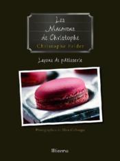 Les macarons de christophe - Couverture - Format classique