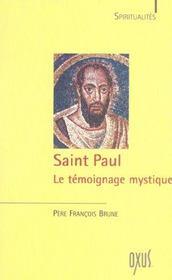 Saint Paul ; le témoignage mystique - Intérieur - Format classique