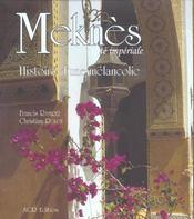 Meknes cite imperiale - Intérieur - Format classique