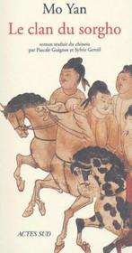 Le clan du sorgho - Couverture - Format classique