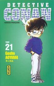 Detective Conan T21 - Intérieur - Format classique
