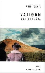 Valigan ; une enquête - Couverture - Format classique