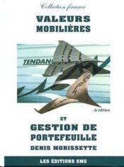 Valeurs mobilieres et gestion de portefeuille, (3. ed.) (3e édition) - Couverture - Format classique