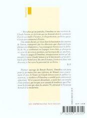 Omnibus - 4ème de couverture - Format classique