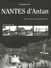 Nantes d'antan - Couverture - Format classique