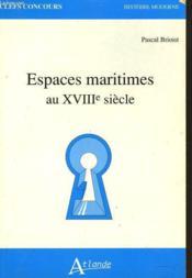 Espaces Maritimes 18e - Couverture - Format classique