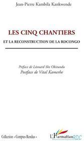 Cinq chantiers et la reconstruction de la RDCongo - Couverture - Format classique