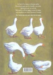 Pecheur Et L'Oie (Le) - 4ème de couverture - Format classique