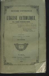 Histoire Universelle De L'Eglise Catholique. Tome Troisieme (Iii) - Couverture - Format classique
