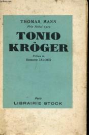 Tonio Kröger Suive De Plusieurs Nouvelles - Couverture - Format classique