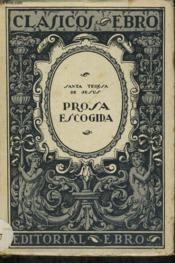 Prosa Escogida - Couverture - Format classique
