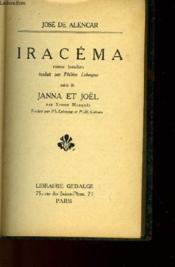 Iracema Suivi De Janna Et Joel - Couverture - Format classique