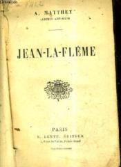 Jean La Fleme. - Couverture - Format classique