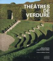 Théâtres de verdure - Couverture - Format classique