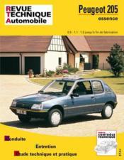 Peugeot 205 essence - Couverture - Format classique