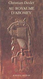 Au Royaume D'Abomey - Intérieur - Format classique