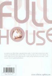 Full House T.4 - 4ème de couverture - Format classique