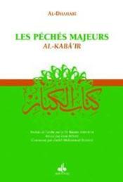 Les péchés majeurs : al-kaba'ir - Couverture - Format classique