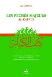 Les péchés majeurs : al-kaba'ir - Intérieur - Format classique