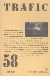 Revue Trafic N.58 - Intérieur - Format classique
