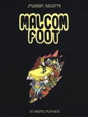 Malcom foot - Couverture - Format classique