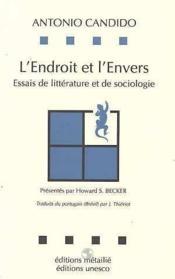 L'endroit et l'envers : essai de litterature et de sociologie - Couverture - Format classique
