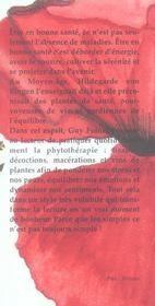 La collection florilège ; un écrin de plantes pour pratiquer la phytothérapie au quotidien - 4ème de couverture - Format classique