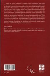 À l'école du rythme... ; utopies communautaires allemandes autour de 1900 - 4ème de couverture - Format classique