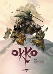 Okko ; le cycle de la terre ; t.3 et t.4 - Couverture - Format classique